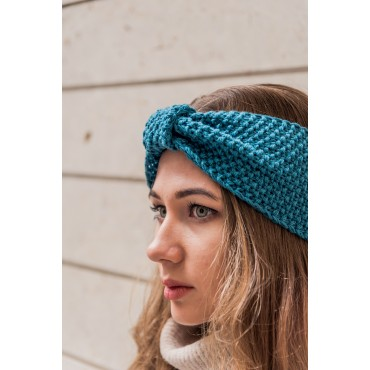 Headband, blue-green
