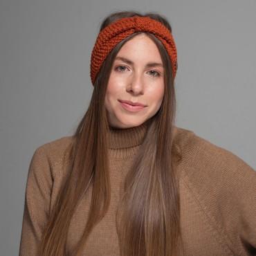 Headband, dark-orange