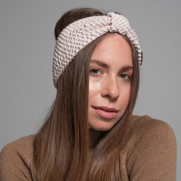 Headband, pink-beige