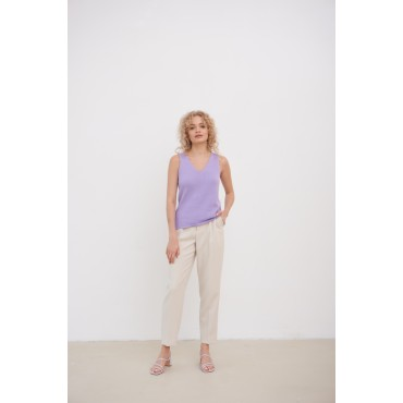 Knitted top, lavender
