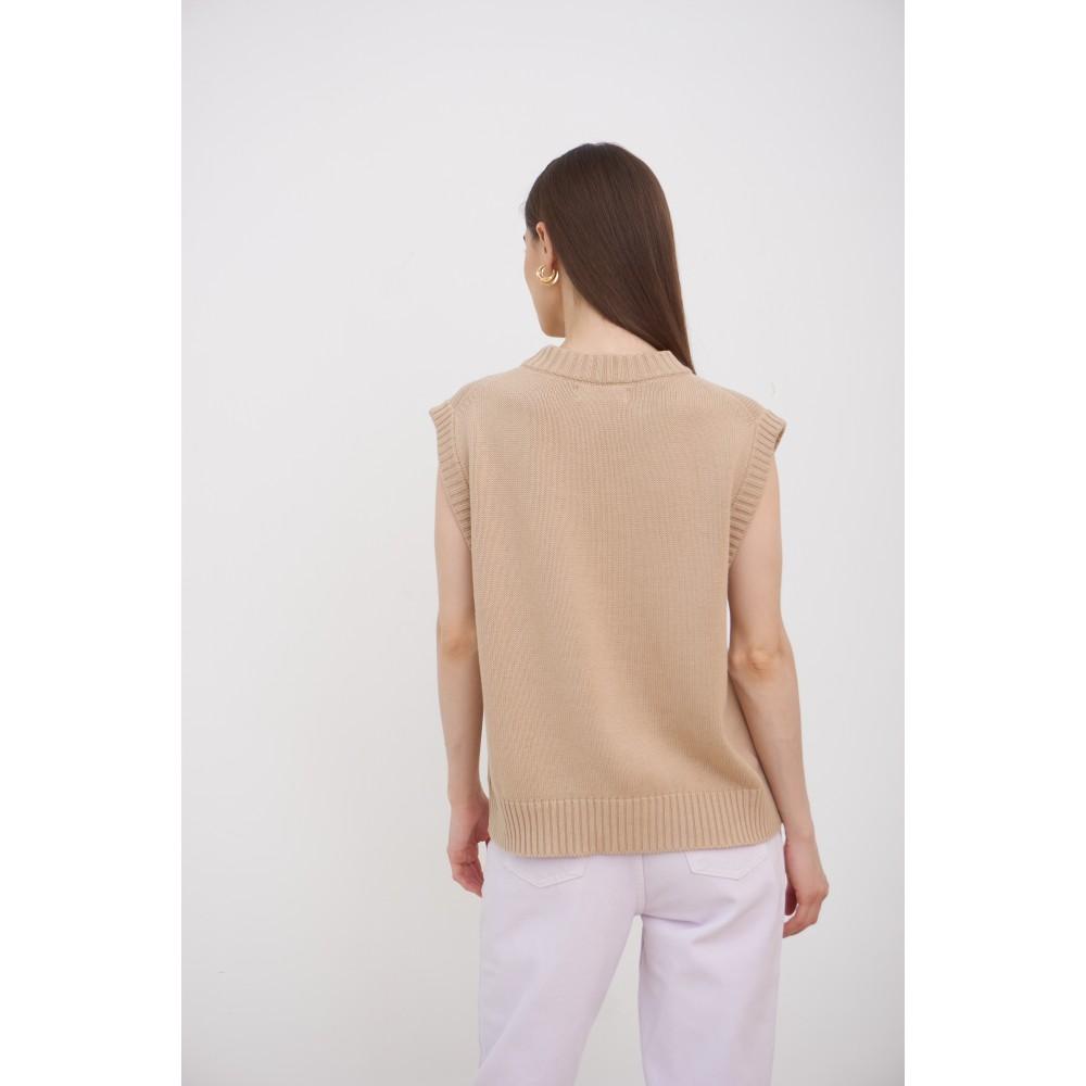 Vest, beige